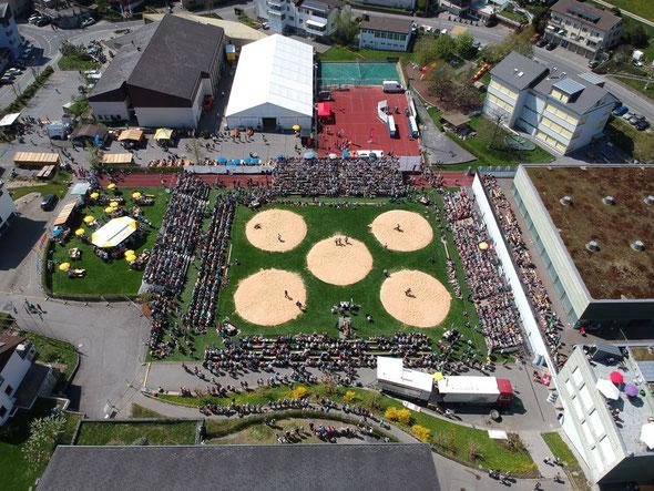 Zuger Kantonales Schwingfest Menzingen 2018