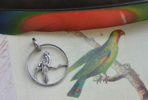 Münzsägewerk Katrin Thull | Seychellen - Schwarzer Papagei