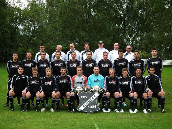 Teamfoto Saison 2011/ 2012