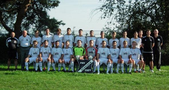 Teamfoto Saison 2012/ 2013