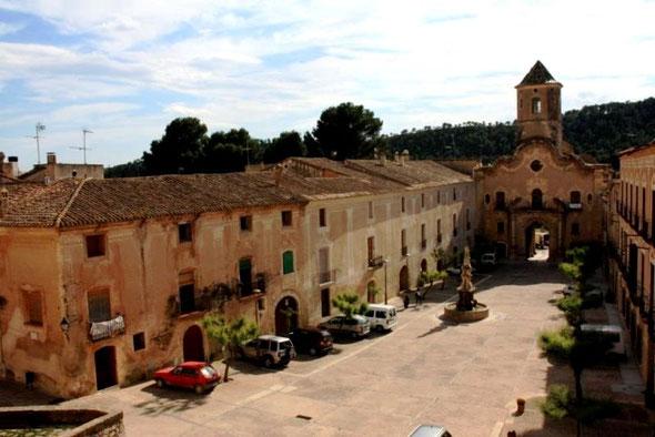 Цистерцианский Монастырь Сантес Креус Каталония