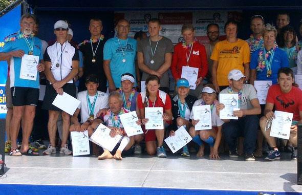 Sachsenmeister und Medaillengewinner