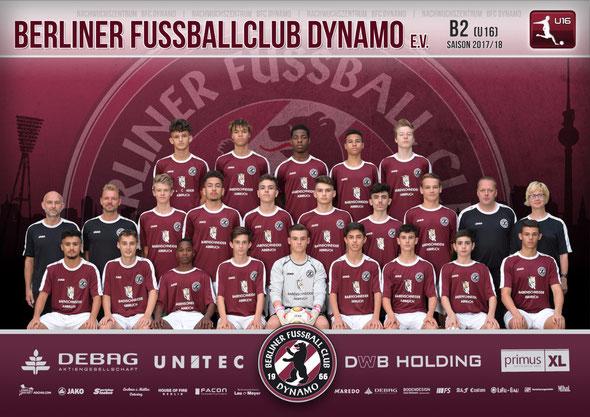 Teamfoto 2016/2017