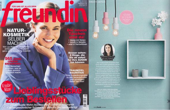 Freundin Ausgabe 21/2015