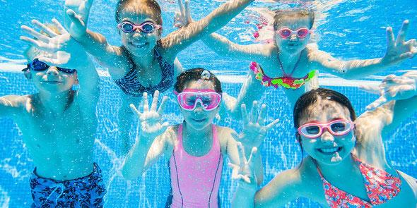 Schwimmkurse mit Schwimmabzeichen