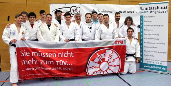 Unser Judo-Team.