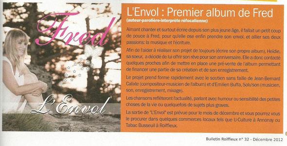 Bulletin Roiffieux n°32 - Décembre 2012