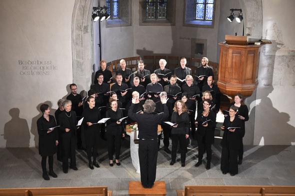 November 2019: Konzert in der Kirche Veltheim. Foto: Heinz Diener