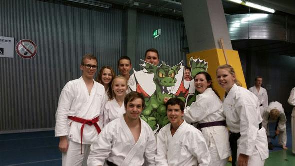 Dreamteam = Karateteam Filser