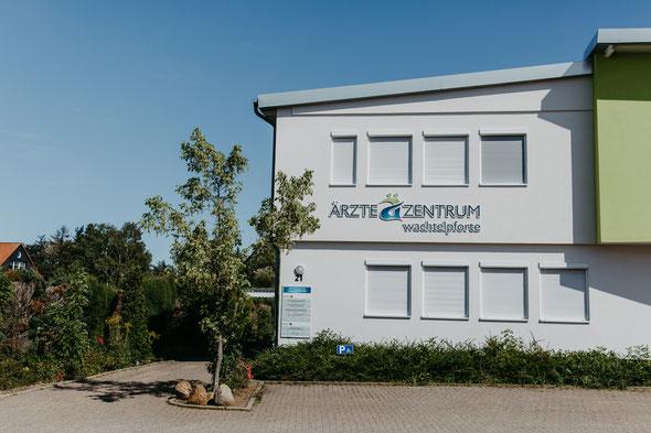 Der zweite Standort der Praxis für Urologie von Dr. Arndt, Dr. Schanz, Dr. Diehl und Dr. Wucherpfennig im Ärztezentrum Wachtelpforte in Goslar.