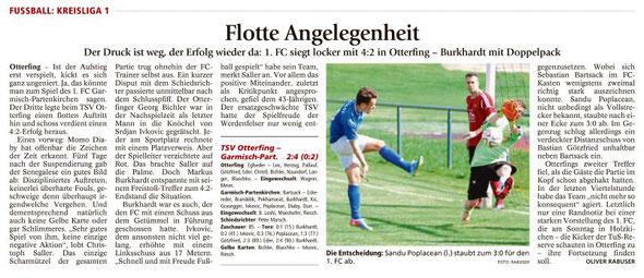 Ga-Pa Tagblatt vom 27.05.2016