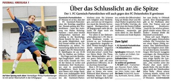 GaPa Tagblatt vom 12.09.2012