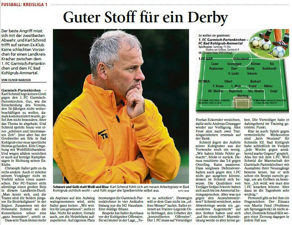 Ga-Pa Tagblatt vom 18.09.2015