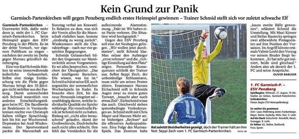 GaPa Tagblatt vom 27.08.2014