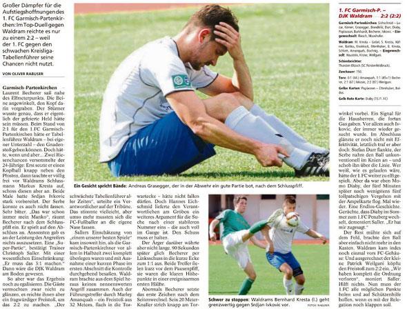 Ga-Pa Tagblatt vom 09.05.2016