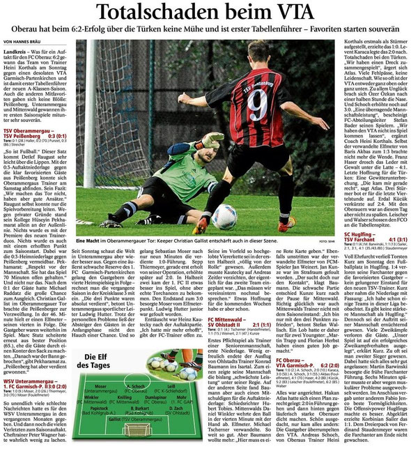 GaPa Tagblatt 06.08.2012
