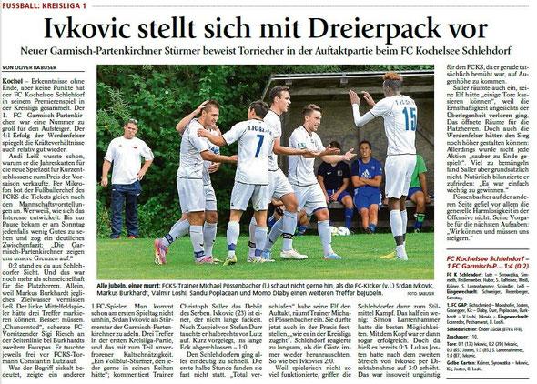 Ga-Pa Tagblatt vom 03.08.2015