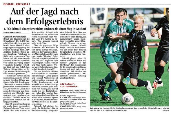 GaPa Tagblatt vom 08.08.2014