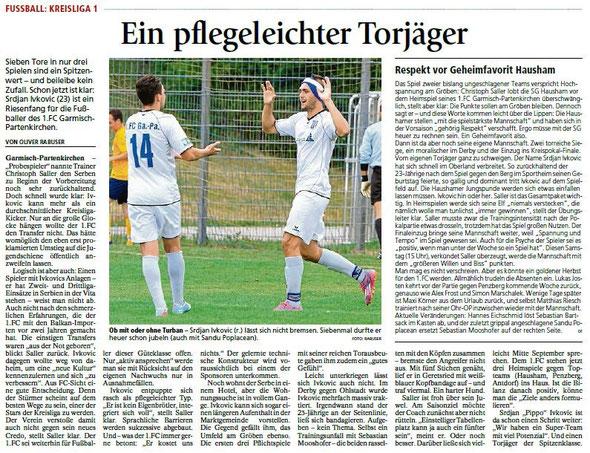 Ga-Pa Tagblatt vom 22.08.2015