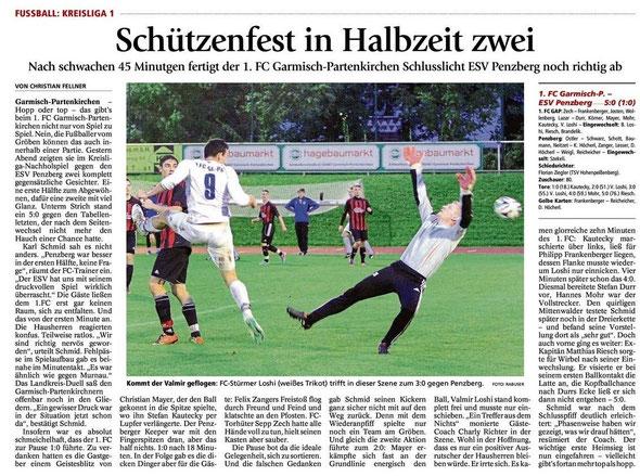 Ga-Pa Tagblatt vom 28.8.2014