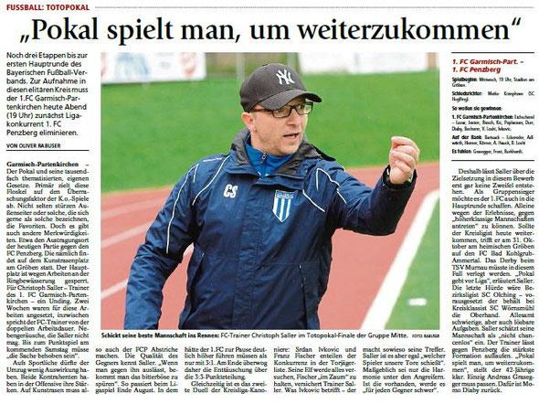 Ga-Pa Tagblatt vom 14.10.2015