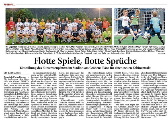 Ga-Pa Tagblatt vom 8.7.2014
