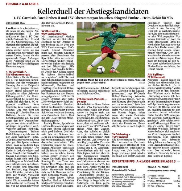 GaPa Tagblatt vom 25.08.2012