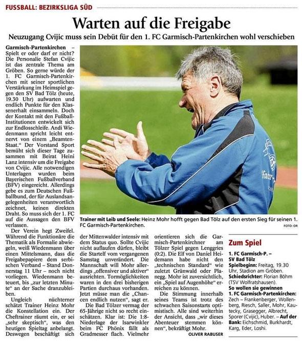 Ga Pa Tagblatt vom 09.08.2013