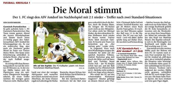 GaPa Tagblatt vom 25.10.2012