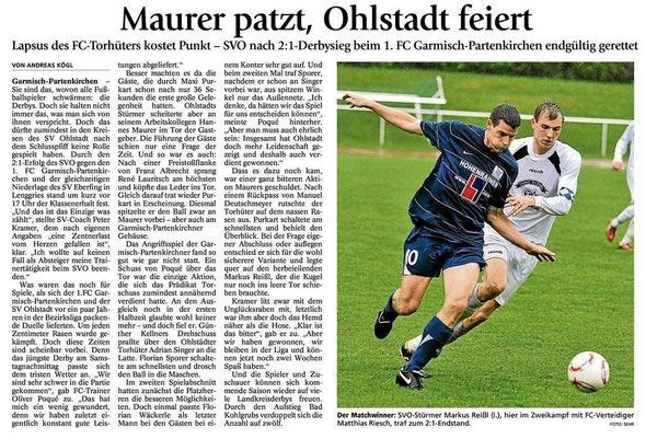 GaPa Tagblatt vom 14.05.2012