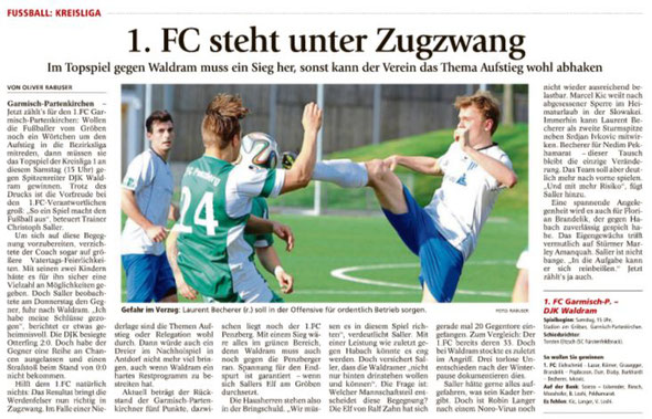 Ga-Pa Tagblatt vom 07.05.2016