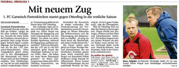 Artikel aus dem Garmischer Tagblatt vom 24.03.2012