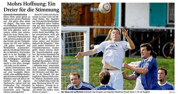 GaPa Tagblatt vom 28.07.2012