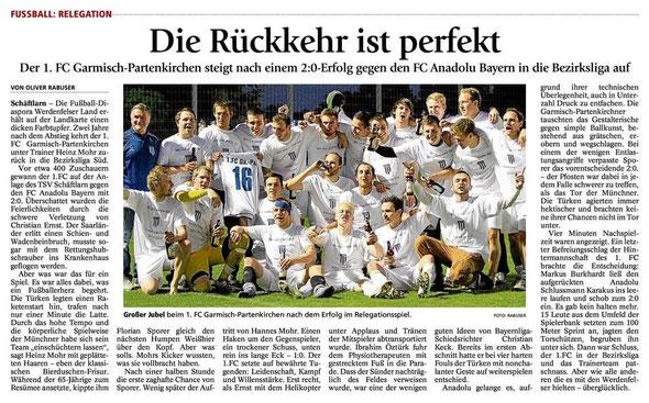 GaPa Tagblatt vom 7.6.2013
