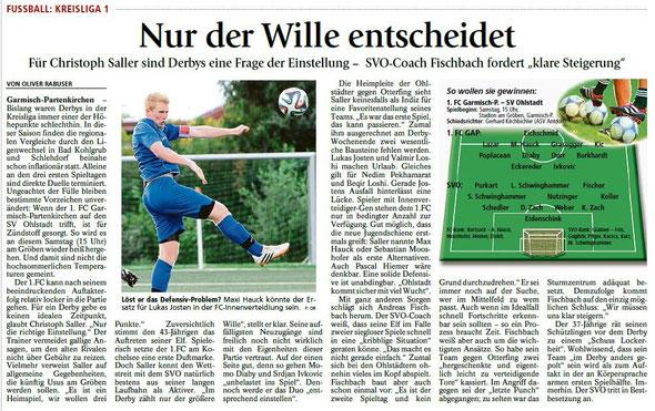 Ga-Pa Tagblatt vom 08.08.2015