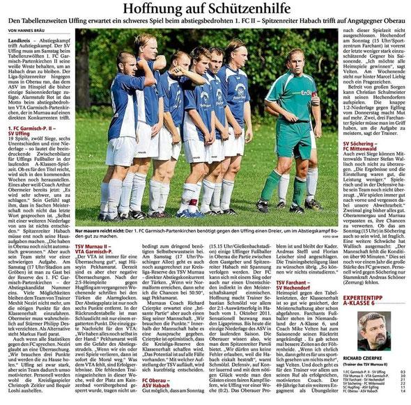 GaPa Tagblatt vom 28.04.2012