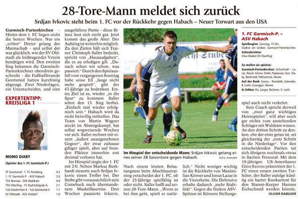 Ga-Pa Tagblatt vom 30.04.2016