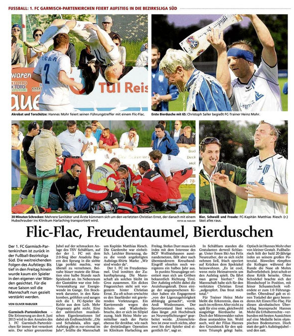 GaPa Tagblatt vom 8.6.2013