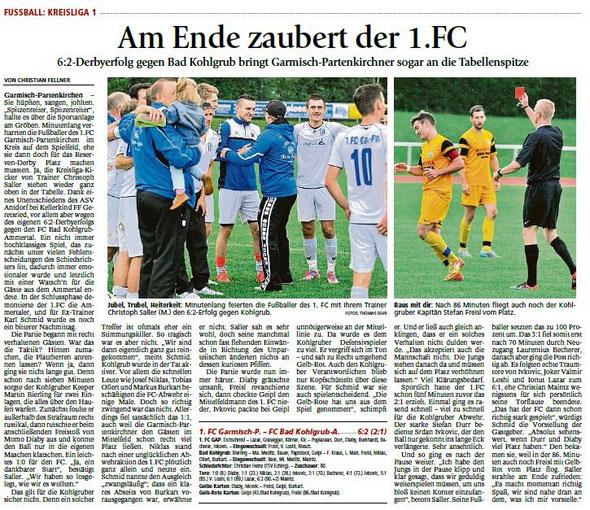 Ga-Pa Tagblatt vom 21.09.2015