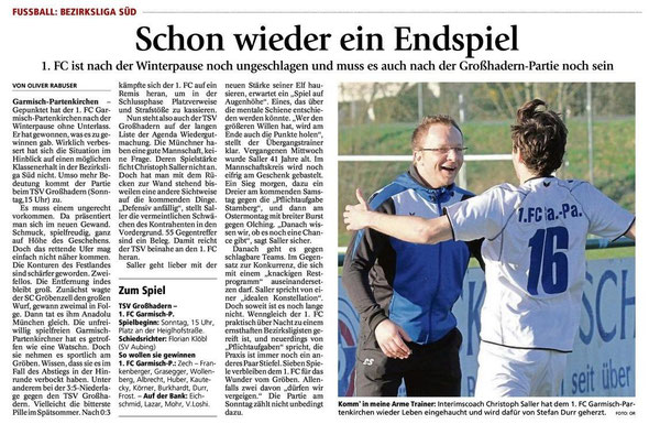 Ga Pa Tagblatt vom 11.04.2014