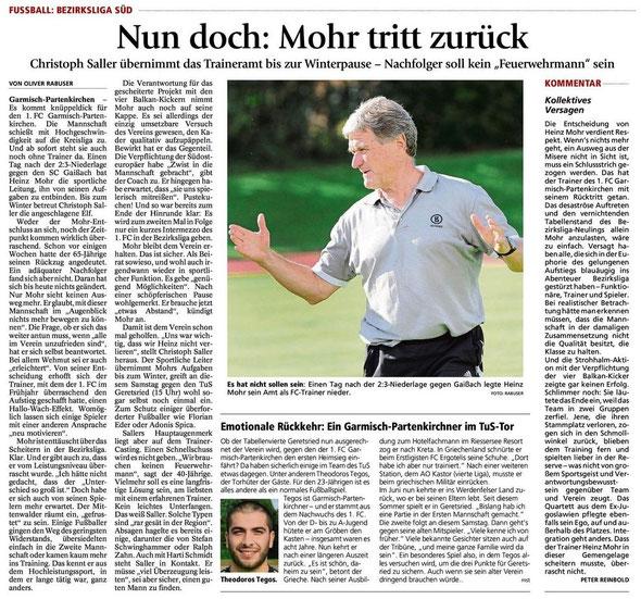 Ga Pa Tagblatt vom 02.11.2013
