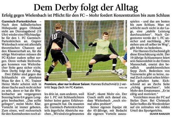 GaPa Tagblatt vom 30.04.2013