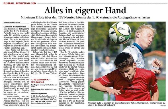 Ga Pa Tagblatt vom 10.05.2014