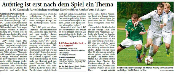 Ga-Pa Tagblatt vom 05.09.2015