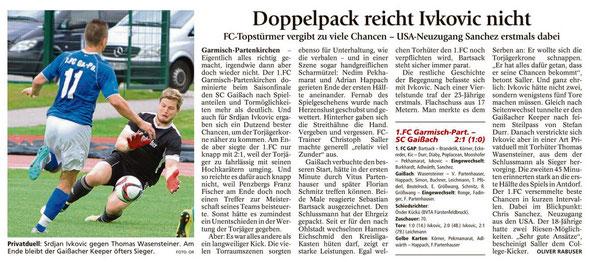 Ga-Pa Tagblatt vom 06.06.2016