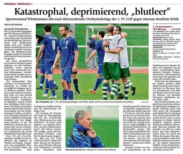 Ga-Pa Tagblatt vom 25.8.2014