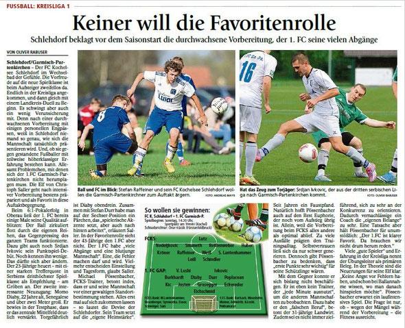 Ga-Pa Tagblatt vom 01.08.2015
