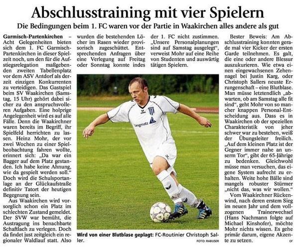 GaPa Tagblatt vom 20.04.2013