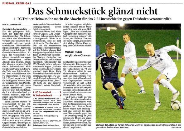 GaPa Tagblatt vom 13.09.2012