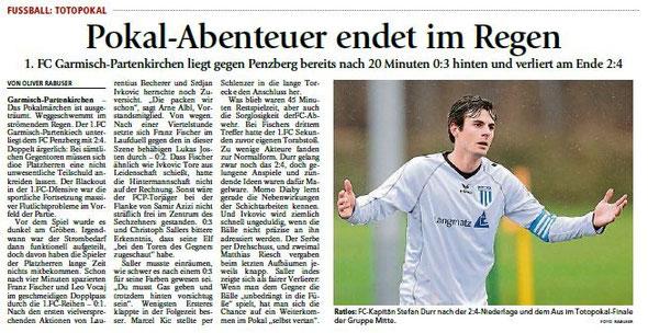 Ga-Pa Tagblatt vom 15.10.2015